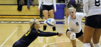 GRCC volleyball team rallies to beat Muskegon Community College 3-2