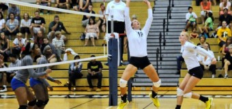 GRCC volleyball team wins home opener