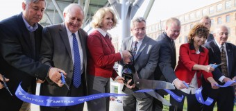 New train station replaces 'Amshack'