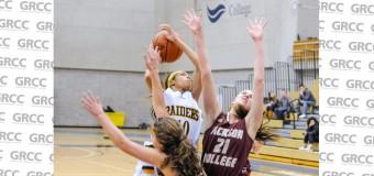 GRCC 62, Jackson College 53: Kristen Schubring leads Raiders to win