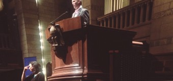 Matt Taibbi, Rolling Stone contributor and author, speaks about 'wealth gap' at Fountain Street Church