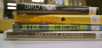 Library of Michigan's 2015 Most Notable Books Displays on GRCC Shelves