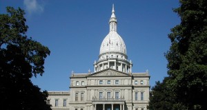 Michigan capitol building by Brian Charles Watson via Wikimedia Commons