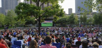 Gallery: Fans pack Rosa Parks Circle to watch World Cup final