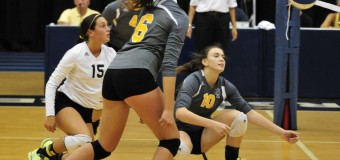 GRCC volleyball team loses 3-2 to Kalamazoo Valley Community College