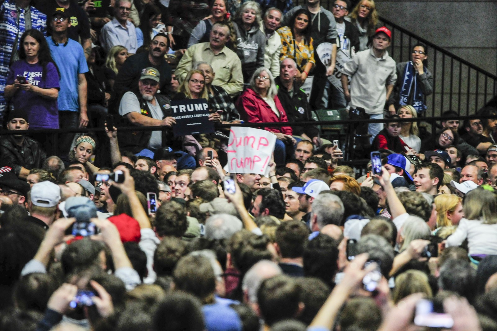 ... Donald Trump makes first stop in West Michigan - The Collegiate Live