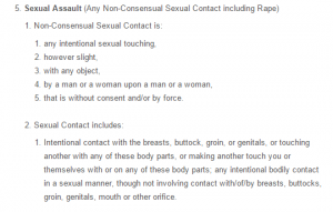 Sexual Misconduct Policy 8.5
