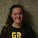 Freshman defensive specialist/libero, #5, Kennedy Potts.