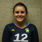 Freshman Outside Hitter, #12, Olivia Reams.