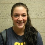 Freshman Defensive Specialist, #7, Hailey DeKorte.