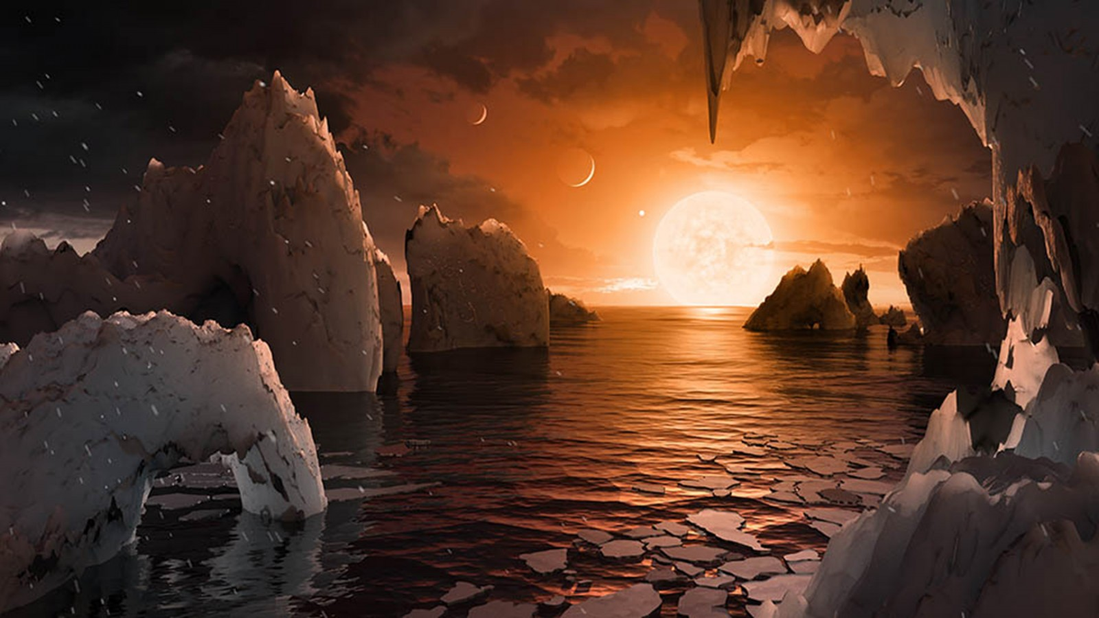 NASA discovers seven planets similar to Earth - The ...