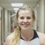 Freshman Forward, #33, Emily Pendred.