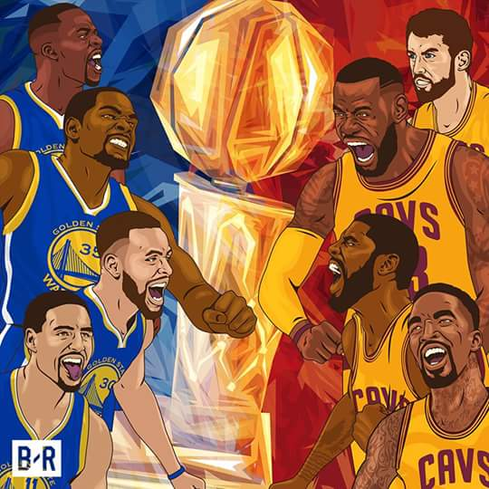 Cavaliers vs. Warriors, Game 2