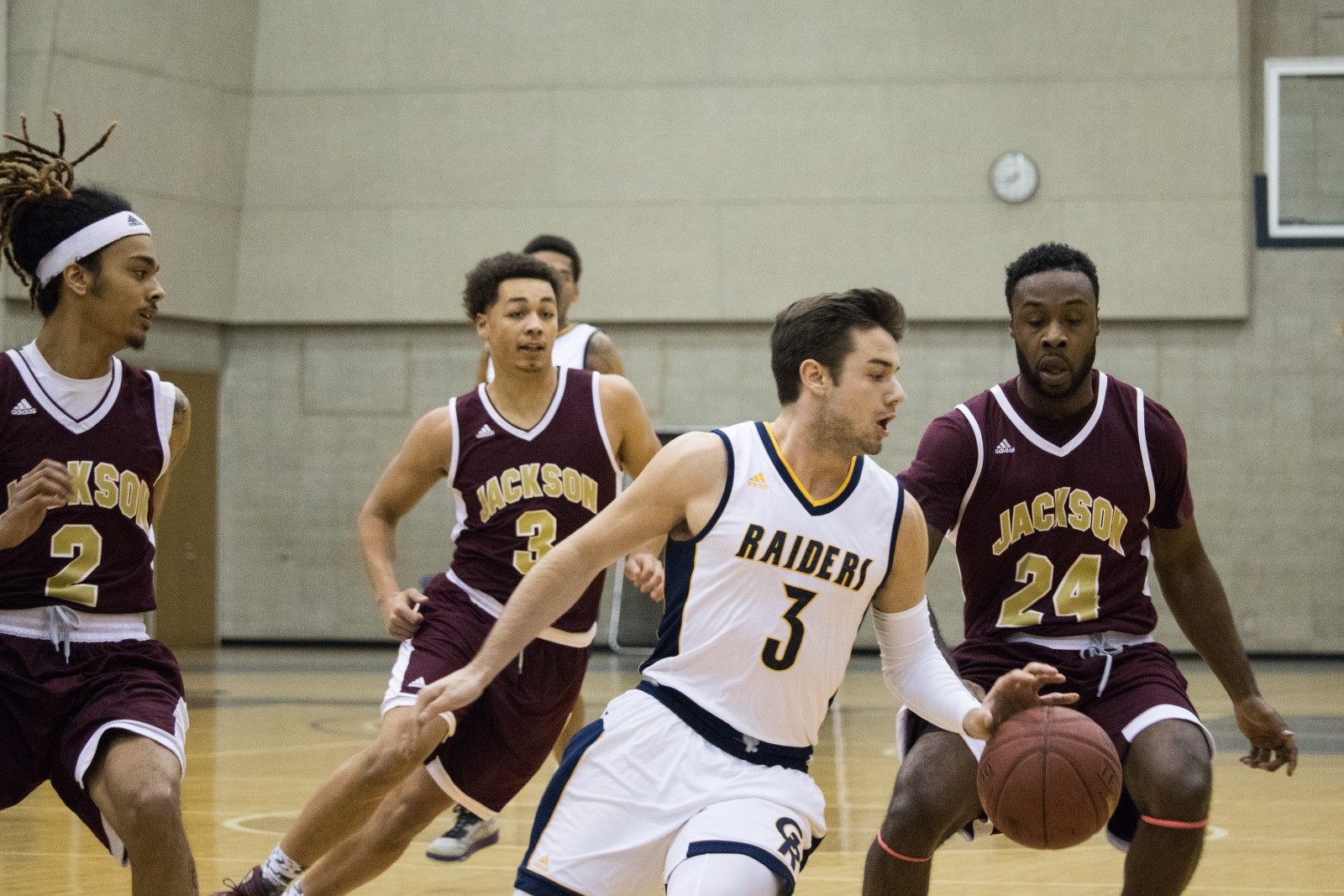 Men's Basketball knocks off Jackson College - The ...
