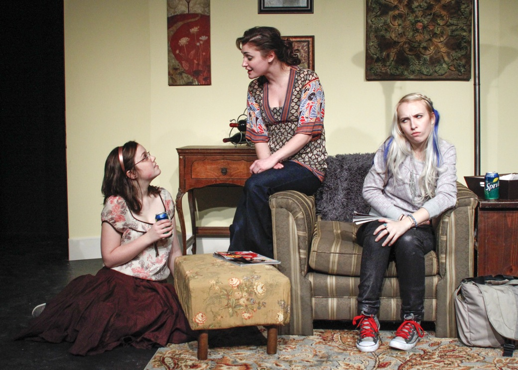 """""""Crooked"""" will take place at 8 p.m. Thursday, Friday and Saturday in Room 201 of the Spectrum Theater building."""