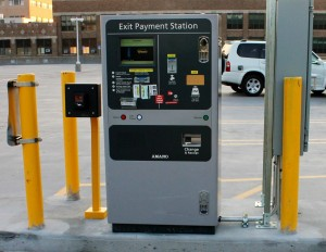 Bostwick Ramp Exit Payment Station