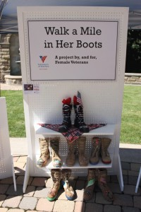 """""""Her Boots: Step up for the Stand Down"""""""