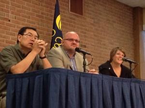 Yan Bai, Gordon Vurusic and Heather