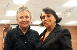 Deb Bailey and Lupe Ramos-Montigny