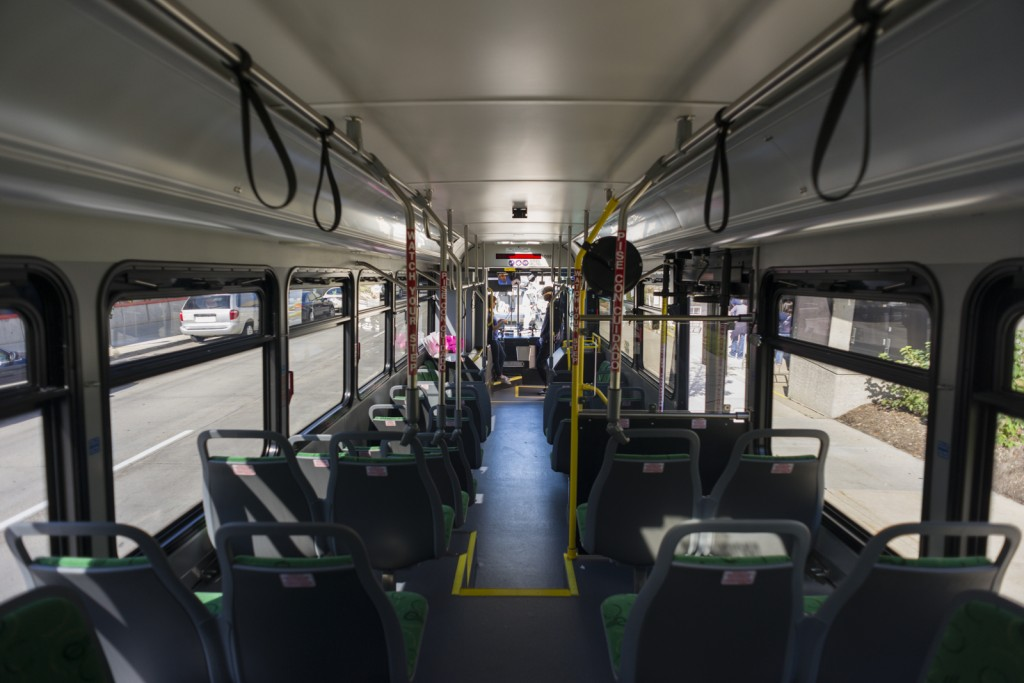 Inside the Silverline Bus