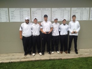 The GRCC men's Golf team won the the Taylor Invite on Tuesday.