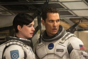 "Matthew McConaughey and Anne Hathaway in ""Interstellar,"" From Paramount Pictures and Warner Brothers Entertainment. Photo Courtesy MCT Campus"
