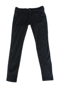Pants are an easy transition if you've got a lasting blouse. Trousers are always important to have, but if you want to be current in today's professional fashion, get yourself a pair of black or gray skinny pants. No, not skinny jeans. Never wear jeans, even black ones, in a professional environment. But a trendy pair of fitted slacks, along with some modest mary janes, can be found at a reasonable rate at a store such as Express.