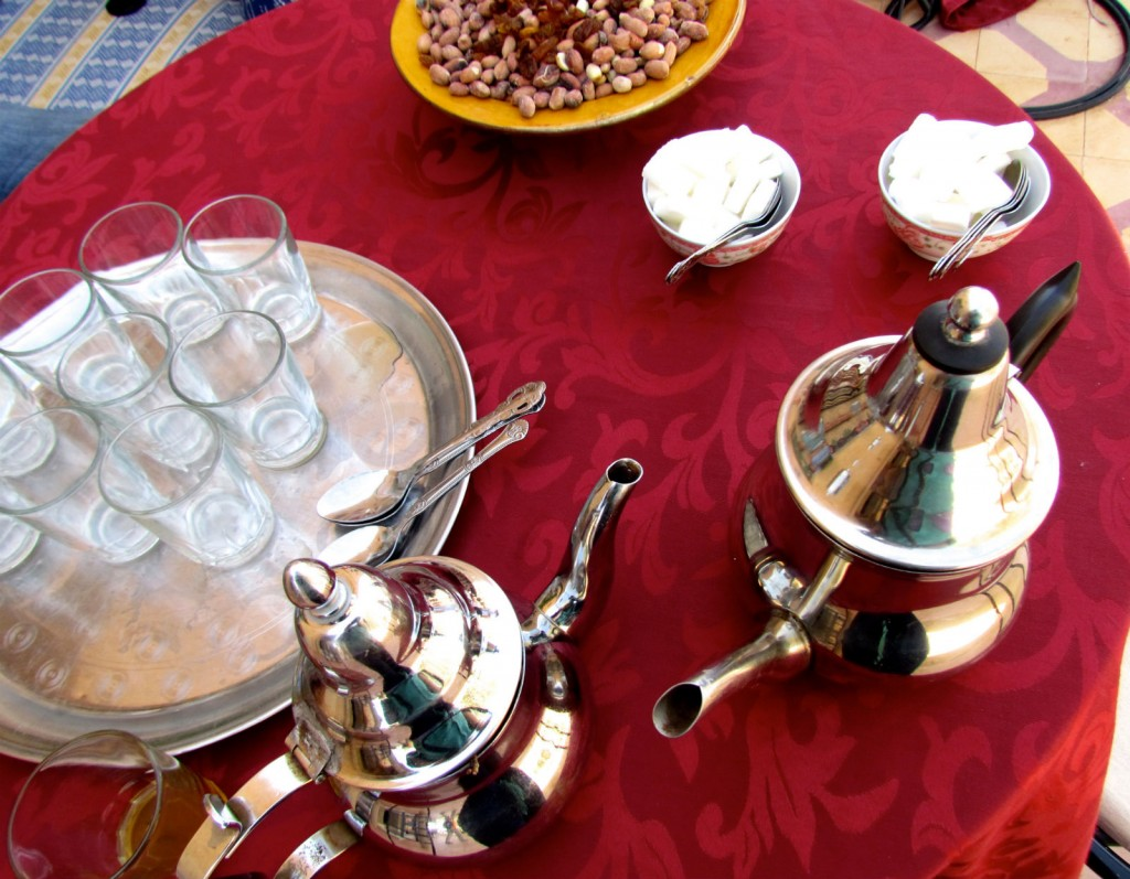 The Global Experience Festival will feature food from Morocco, including traditional Moroccan mint tea. Photo by Jacquelyn Zeman