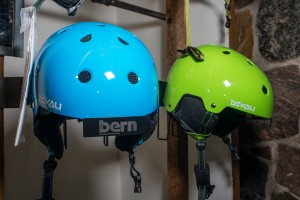 Wearing a helmet in the winter doesn't mean sacrificing warmth for safety. Certain models of helmets are made for year-round use. Cost is usually around $40 to 80.
