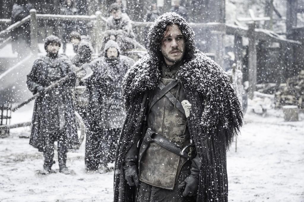 "Kit Harington in season 5, episode 9 of HBO's ""Game of Thrones."" (Helen Sloan/Courtesy HBO/TNS)"