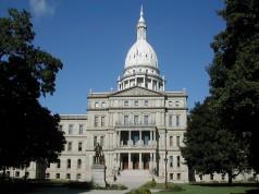 Michigan capitol building by Brian Charles Watson via Wikimedia Commons