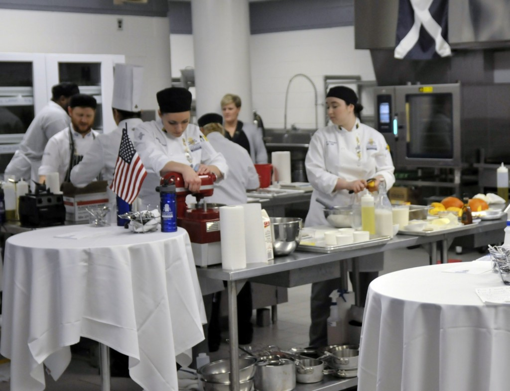 The United States team competed in the two-day competition, hosted at GRCC.