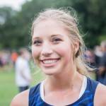 Freshman runner Jessica Quist