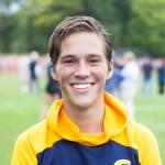 Sophomore runner Kirk Dickson