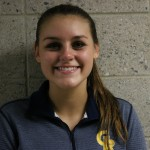 Freshman outside hitter, #12, Olivia Reams.