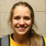 Freshman setter, #2, Lauren Helsen.