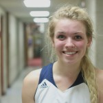 Freshman Guard, #3, Claire Flewelling.