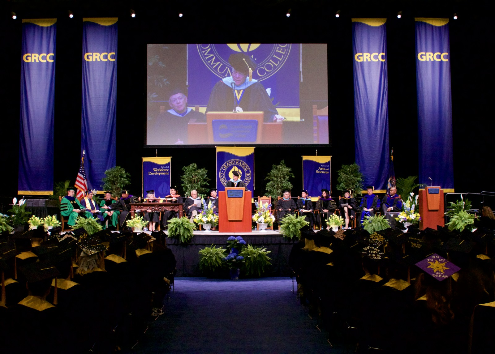 grcc hosts 100th commencement ceremony