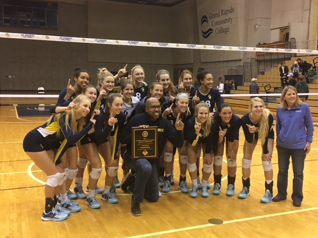 Grcc Volleyball Secures Mccaa Tournament Championship
