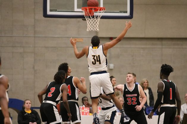GRCC men's basketball team ends Homecoming Week with ...
